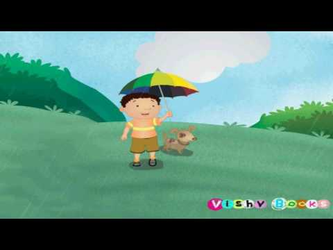 Pani Barsa Cham Cham - Hindi Nursery Rhymes Songs for Children | SimTim TV | पानी बरसा छम छम छम