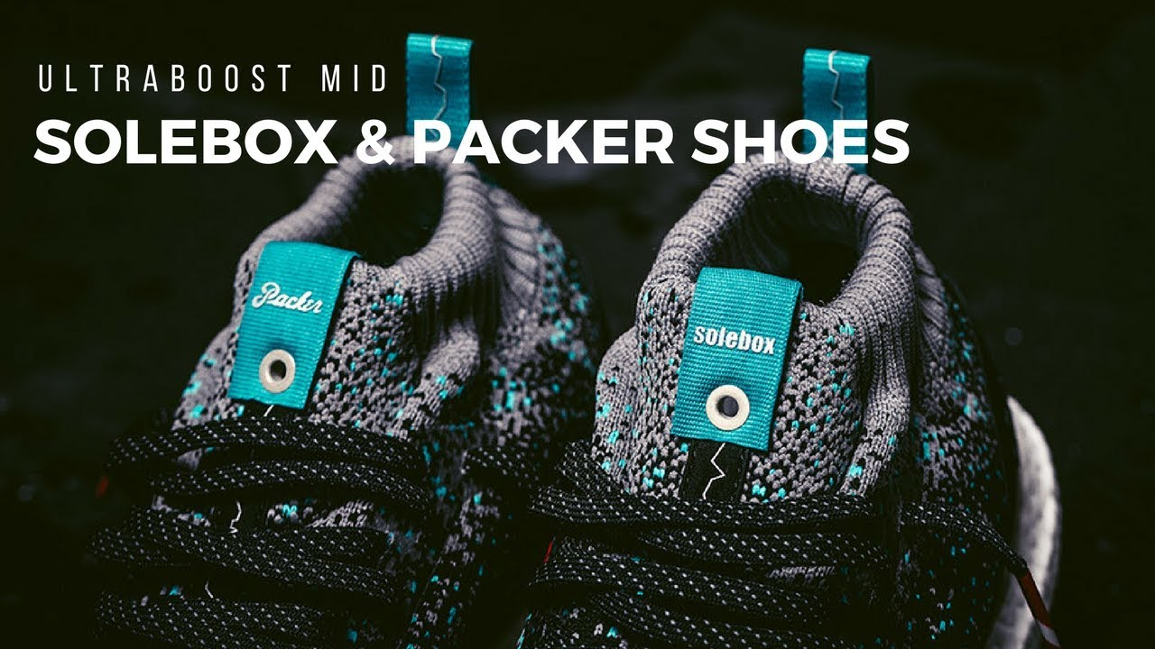 458e6068f8938 Solebox X Packer Shoes Ultraboost Mid - Unboxing and On Feet - YouTube