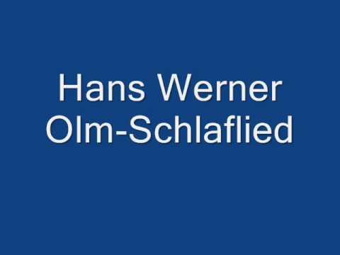 Hans Werner Olm-Schlaflied