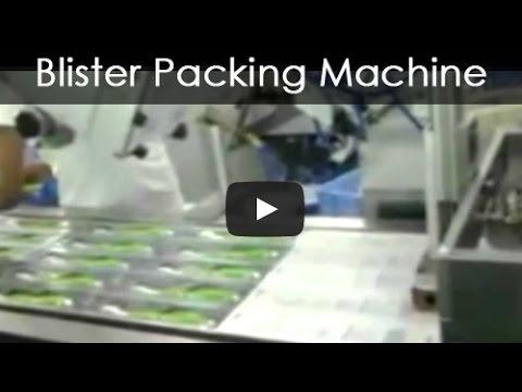 Blister Packing Machine Toothbrush Packing Machine