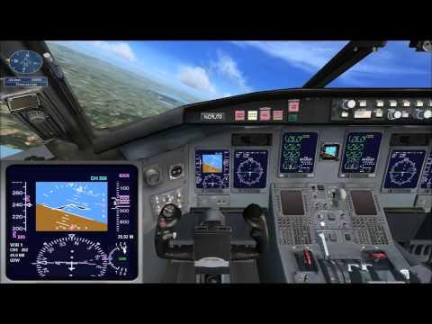 Microsoft Flight Simulator X миссия - Пересаживаемся на реактивные самолёты