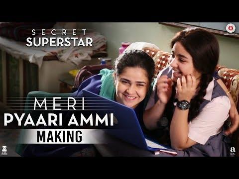 Secret Superstar - Making | Meri Pyaari Ammi | Aamir Khan | Zaira Wasim | Meher Vij | Diwali 2017