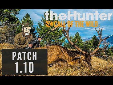 theHunter Call of the Wild #Патч 1.10 +просто охота - Продолжительность: 24:31