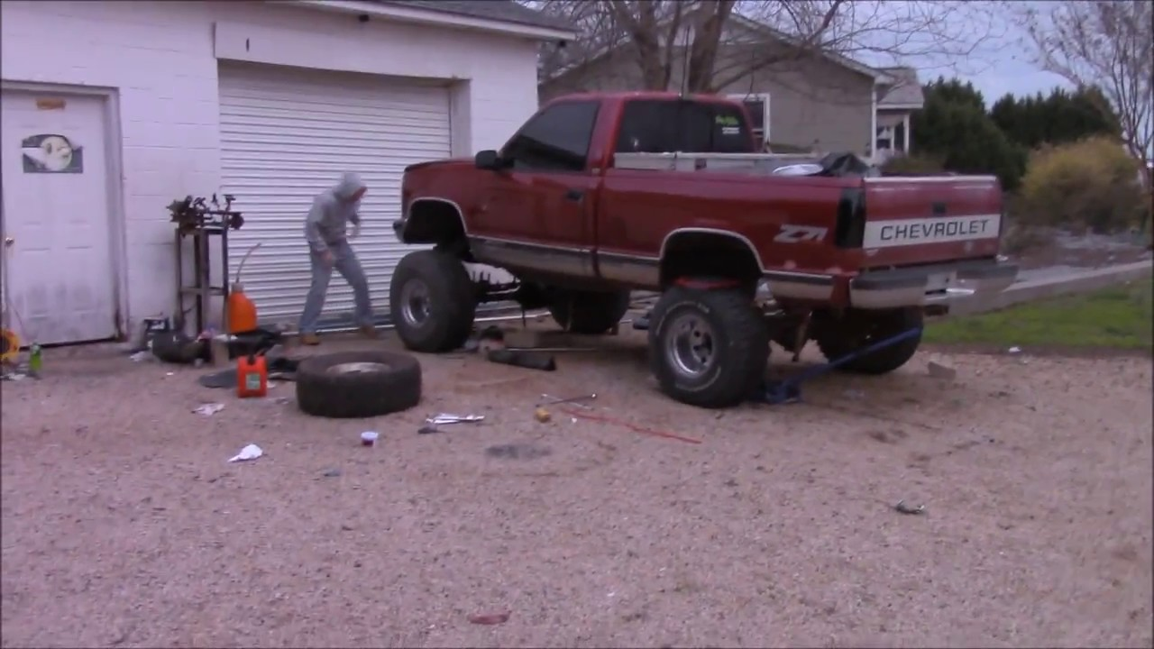 Z71 Solid Axle Swap Youtube