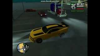 GTA San Andreas Transformers mod(Optimus Prime: http://www.gtagaming.com/downloads/gta-san-andreas/vehicle-mods/3143 Camaro SS Transformers 3: ..., 2012-12-15T15:16:45.000Z)