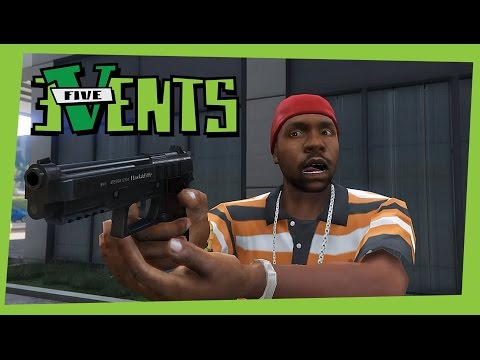 GTA 5 PC Random Events Meteor Street Hawick Crime alley Event