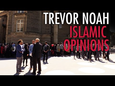 Jay Fayza: Asking Trevor Noah fans about Islam