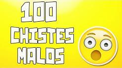 100 Chistes malos que te harán reír