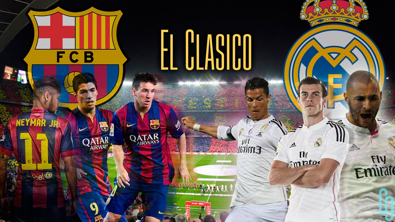 Barcelonareal Madrid El Clasico Wallpaper By Coleonyxstudio Youtube
