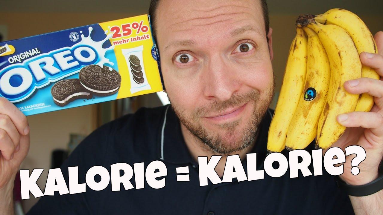 Kalorien - Sind sie alle gleich? - Kalorie = Kalorie? [VEGAN]