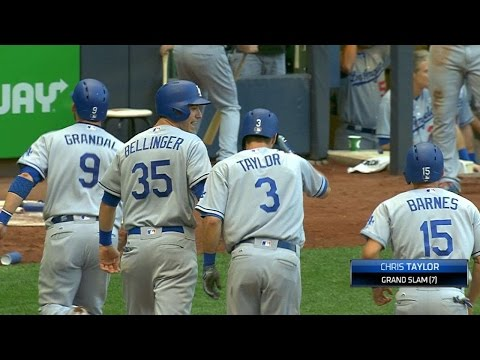 Taylor unloads go-ahead grand slam in 9th