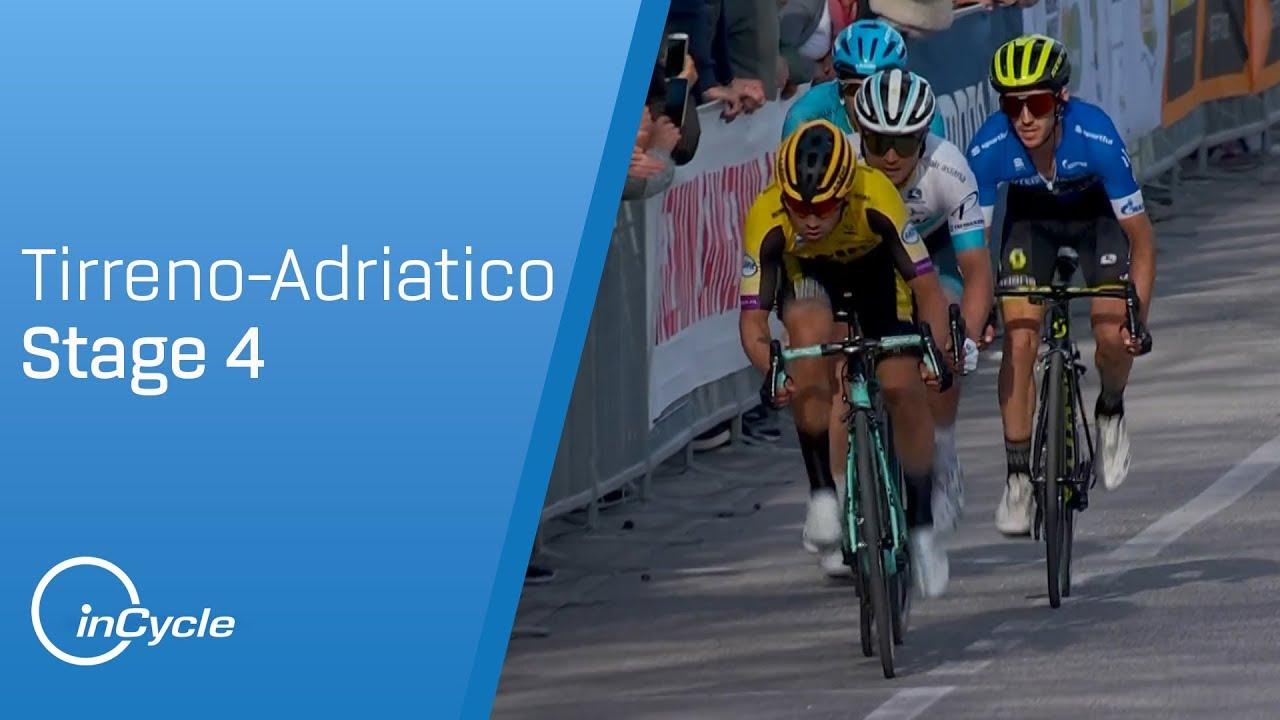 db39cb26b7b Tirreno-Adriatico 2019 | Stage 4 Highlights | inCycle - YouTube