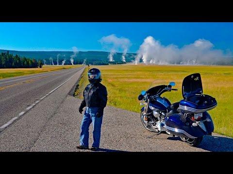 Yellowstone, Canyon Village to Old Faithful; Yellowstone Motorcycle Ride