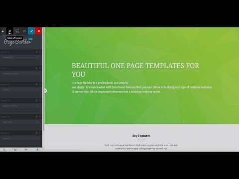 Uix Page Builder v1.4 + Live Demo- WordPress Plugin