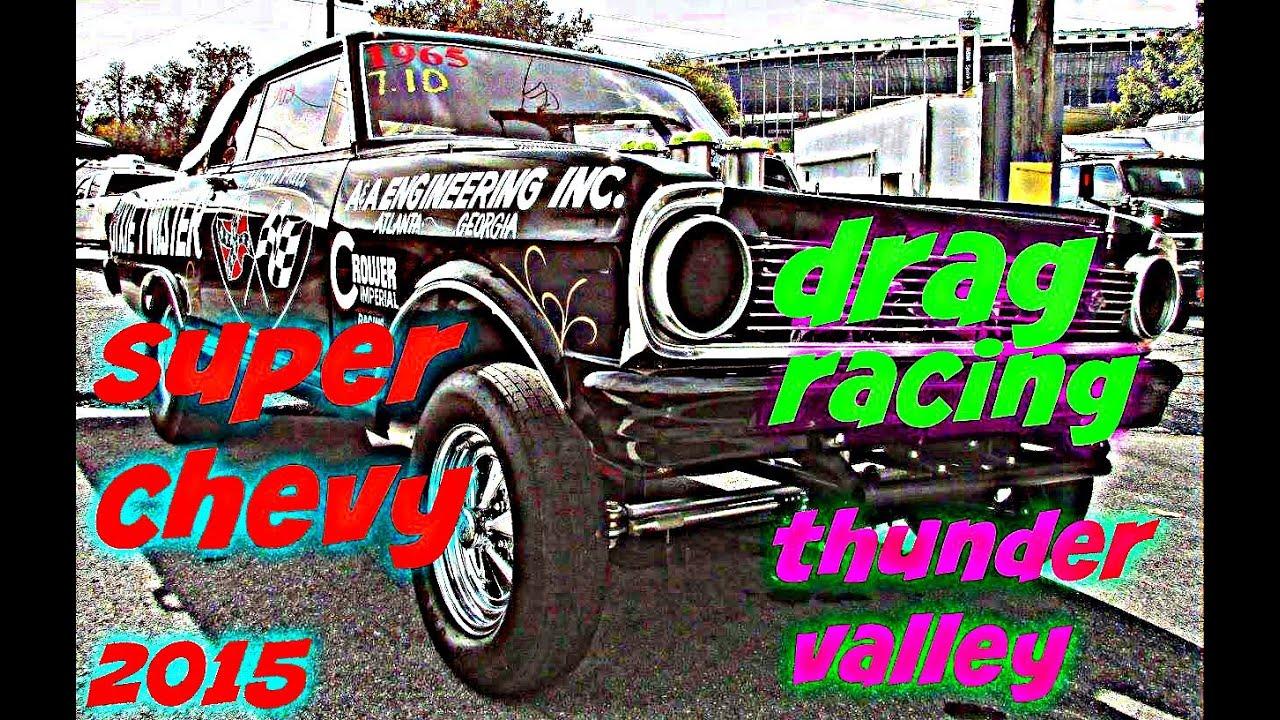 Drag Racing Super Chevy Show Bristol 2017