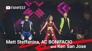 Matt Steffanina, AC BONIFACIO and Ken San Jose featuring Alex Wassabi @ YouTube FanFest Manila 2019