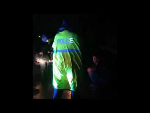 Boynton Beach Police make hilarious arrest during Hurricane Matthew