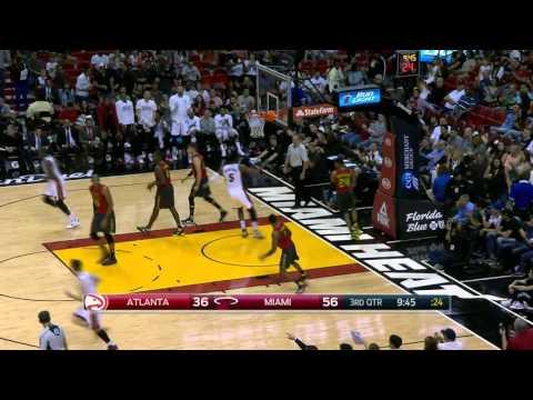 Atlanta Hawks vs Miami Heat | January 31, 2016 | NBA 2015-16 Season