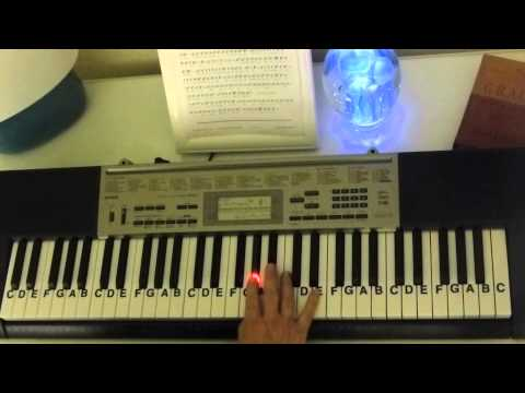 How to Play ~ Total Eclipse Of  The Heart ~ Bonnie Tyler ~ LetterNotePlayer ©