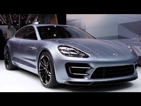 New Porsche Panamera Sport Turismo Concept - 2012 Paris Motor Show