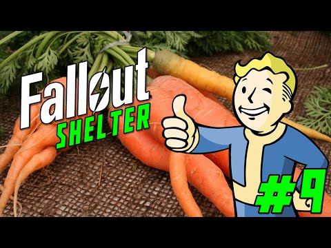 "FALLOUT SHELTER Gameplay Part 9 - ""100% NON-ORGANIC FARM!!!""  (iOS/iPhone/iPad gameplay)"