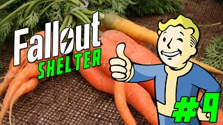 FALLOUT SHELTER Gameplay Part 9 - '100% NON-ORGANIC FARM!!!'  (iOS/iPhone/iPad gameplay)