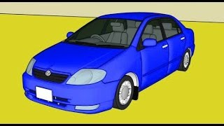 Машинки Мультики - Тойота Королла