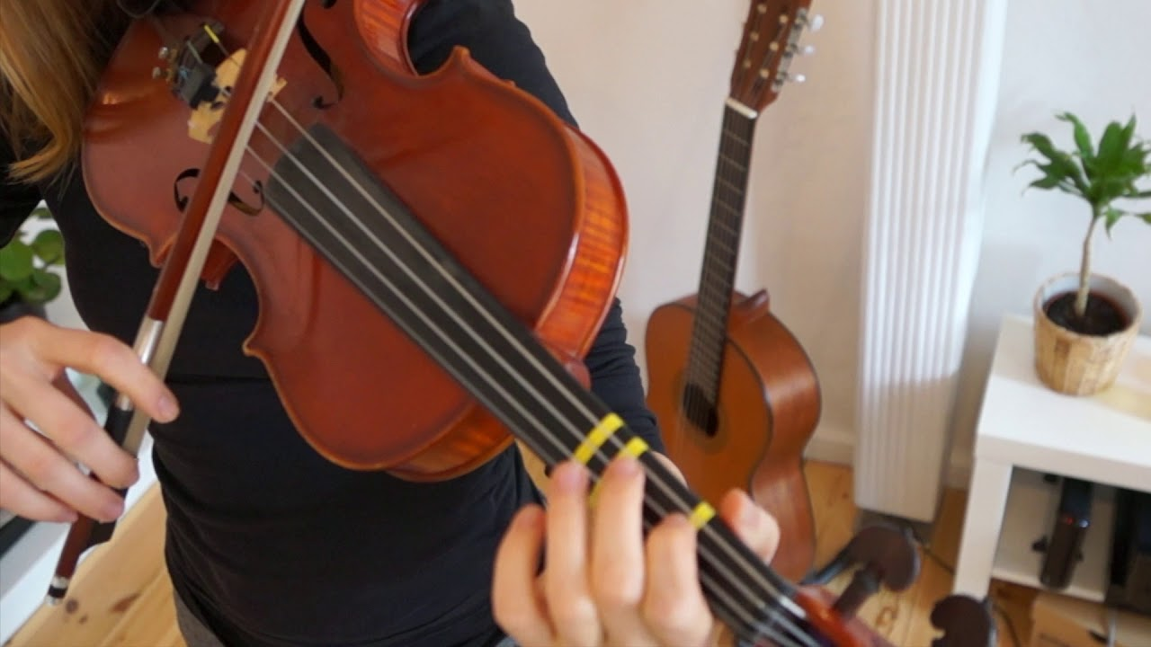 How to play Auld Lang Syne | Easy Beginner Song | Violin Tutorial