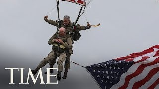 97-Year-Old D-Day Veteran Parachutes Into Normandy 75 Years After First Landing | TIME