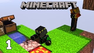 Minecraft Skyblock Survival #1 - Máy làm đá tự động