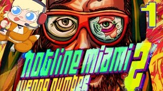 HOTLINE MIAMI 2: WRONG NUMBER Part 1