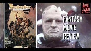 DEATHSTALKER IV :  MATCH OF TITANS ( 1991 Rick Hill ) Fantasy Movie Review