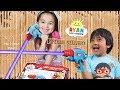 I MAILED MYSELF TO RYAN TOYSREVIEW to get Ryan's World Laser Tag Blasters and It Worked! (Skit)