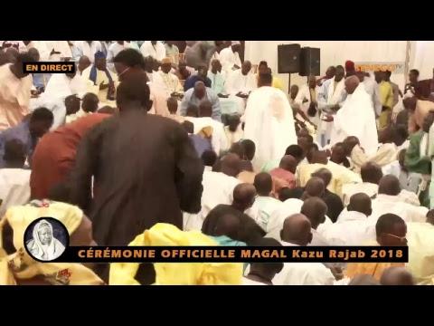 DIRECT: CÉRÉMONIE OFFICIELLE MAGAL Kazu Rajab 2018