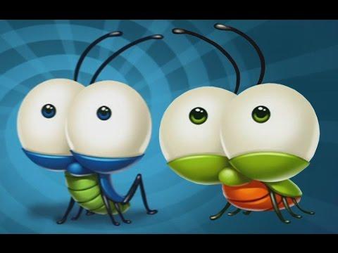 Веселые ДРУЗЬЯ сверчок и жук ОПАСНОЕ ПРИКЛЮЧЕНИЕ #1 - Мультик ИГРА для детей