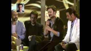 Interview Murat Yıldırım & rest of Suskunlar Heroes.. in Beyaz Show 25 5 2012 (part 7)