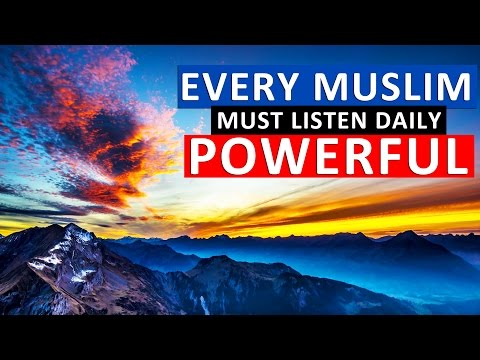 Listen Daily to Refresh Your Iman (Faith) & Solve all your Life Problems ᴴᴰ - LA ILAHE ILLALLAH