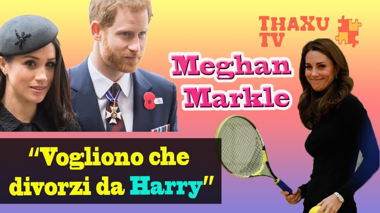 Meghan Markle è scioccata dopo aver scoperto che vogliono che divorzi da  Harry 68a543b3c32