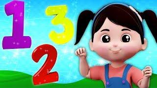Nombres Chanson | apprendre chiffres en français | chiffres pour enfants | Kids Rhyme | Numbers Song
