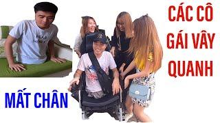 Chàng trai mất 2 chân bất ngờ có thêm nhiều bạn gái II ĐỘC LẠ BÌNH DƯƠNG