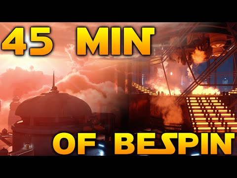 Star Wars Battlefront: 45 Minutes of Bespin Gameplay From All Maps & Heroes!