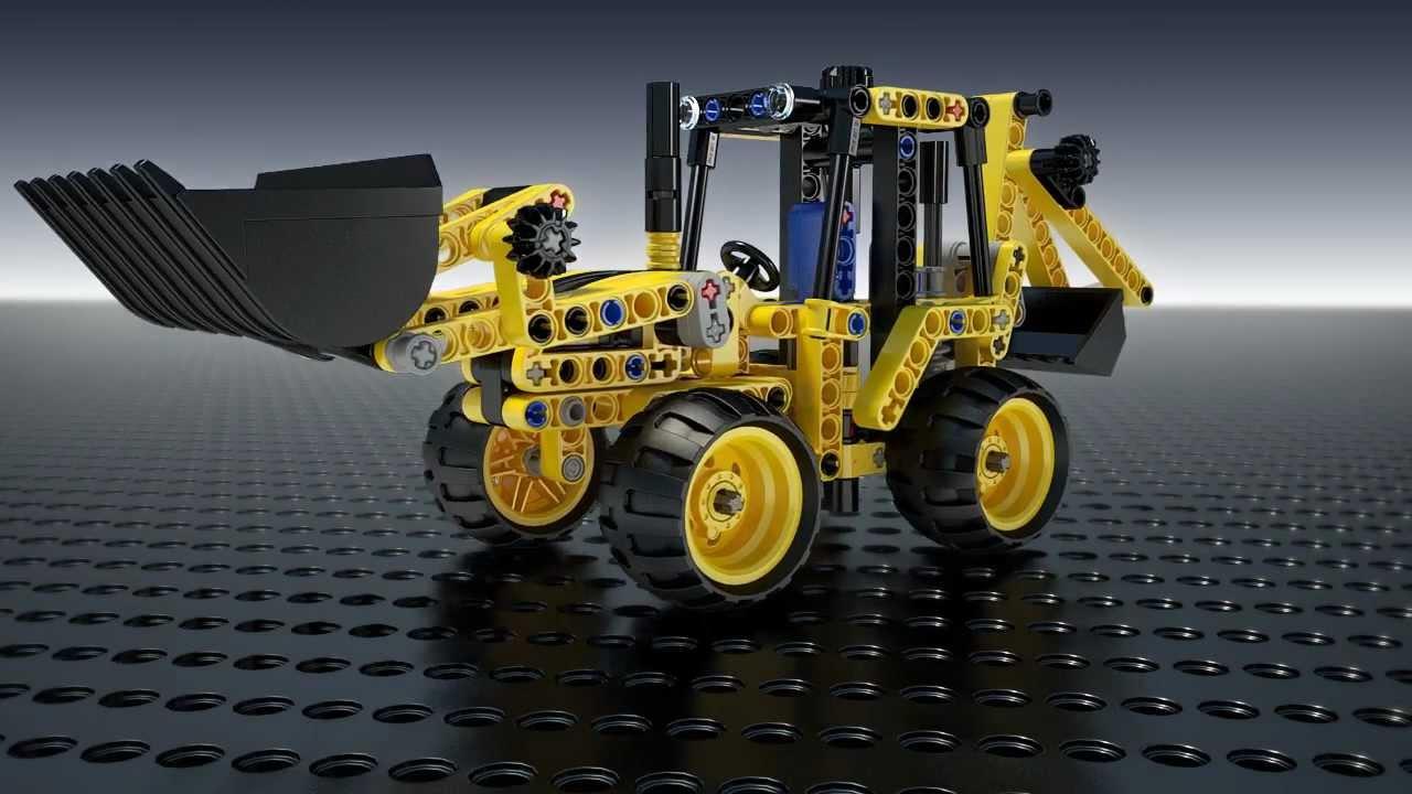 Download LEGO Technic - 42004 Mini rypadlo (krátký film)