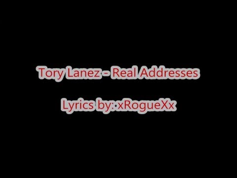 Tory Lanez - Real Addresses (Lyrics on Screen)