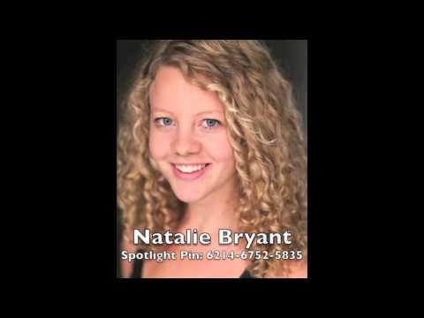 Natalie Bryant Musical Theatre Voice Reel