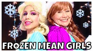 "Frozen Elsa and Anna songs and dance ""Jingle Bell Rock"" Mean Girls"