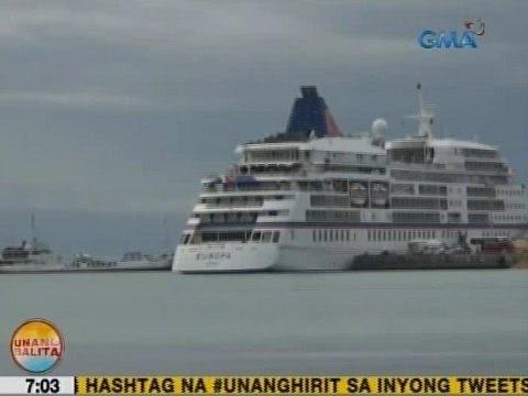 UB: Best cruise ship in the world, dumaong sa Tagbilaran, Bohol