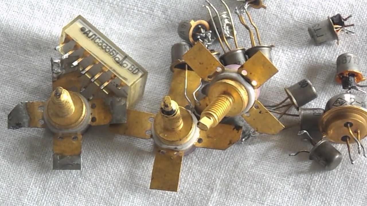 How To Recover Gold From Electronic Components Youtube Can You Believe It I Actually Forgot Build Circuits