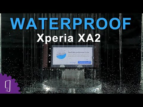 sale retailer 23bdc 472cc Sony Xperia XA2 Waterproof Test
