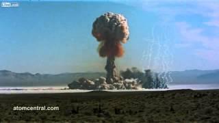 Atomic bomb tests | Music: Sun Ra - Nuclear War