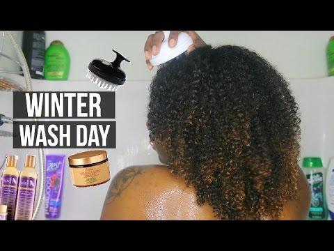 Winter Wash Day Routine   Nia Imani